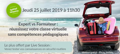 Webinar juillet 2019 live session