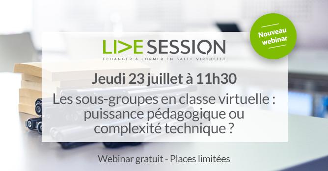 webinar juillet live session 2020