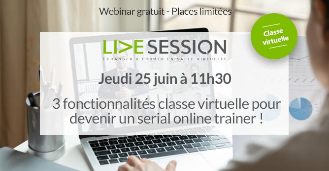 webinar live session juin